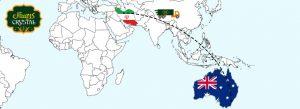 صادرات خرما به استرالیا