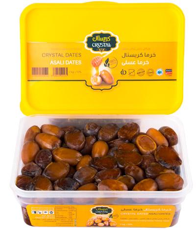 خرما عسلی درجه یک صادراتی