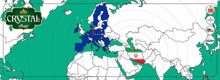 صادارت خرما به اروپا