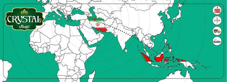 صادرات خرما به اندونزی