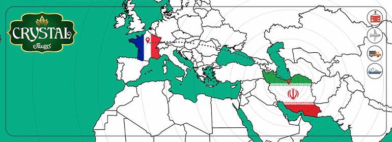صادرات خرما به فرانسه